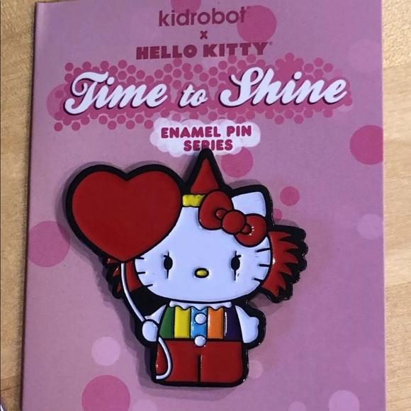 Scary Clown Worldwide Fee S//H Kidrobot Sanrio Hello Kitty Time to Shine Vinyl